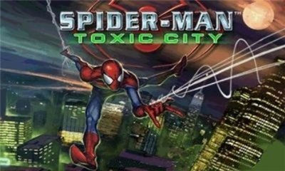 Java игра Spider Man: Toxic City 400х240