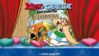 Asterix & Obelix encounter Cleopatra