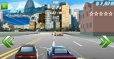 Java игра Fast Five The Movie Official Game 400х240