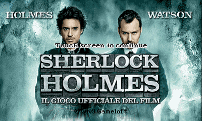 Sherlock Holmes - The official movie game 400x240