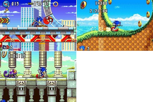 Sonic Advance 3 in 1 [RUS]