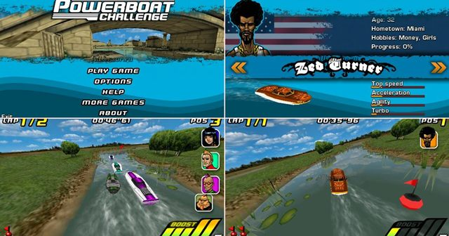 Powerboat Challenge 3D