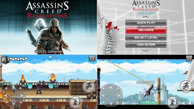 Java игра Assassins Creed: Revelations 400х240